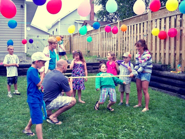 Outside Games For Children
