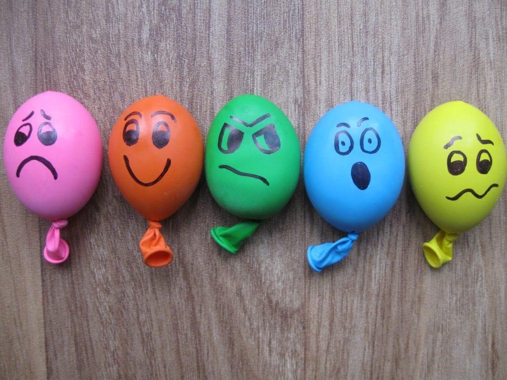 Balloons Stress Activity